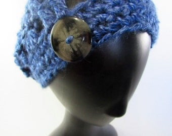Speckled Blue Slouch Hat