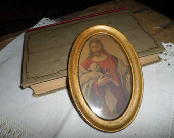 small religious picture ,vintage