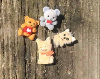 Vintage Cute Animal Pin Collection