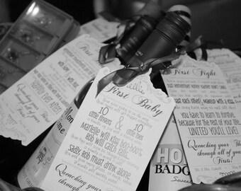 Wine Basket tag