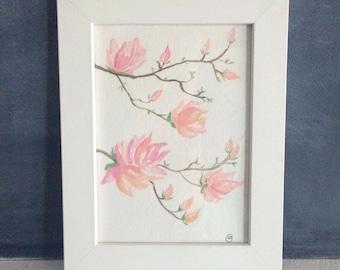 Nursery Cherry Blossoms Art