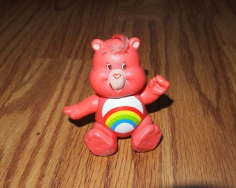 Vintage Care Bears Poseable Cheer  Bear