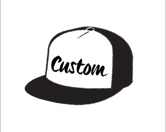 Custom Hand-drawn Hat