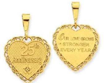 25th Anniversary Reversible Charm (JC-102)