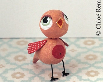 Mini pink bird