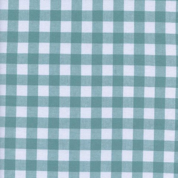 One Yard - 1 Yard of Half Inch Gingham Yarn Dyed in Story Blue - CHECKER WOVEN BASICS by Cotton & Steel