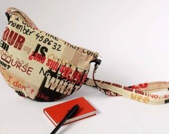 Bag with adjustable shoulder strap
