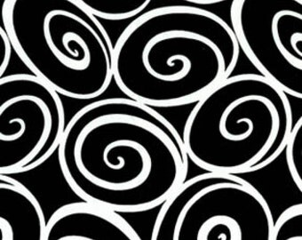 Black and White Collection - Ebony Ironwork Yardage by Michael Miller Collection SKU# CX2780-EBONY