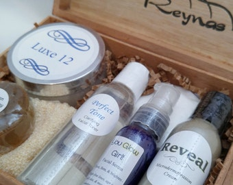 Facial Gift Set for Maturing Skin - Naturally Combat Aging Skin Issues - FREE DOMESTIC SHIPPING!
