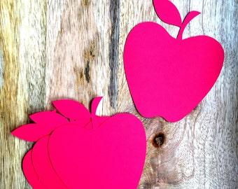 Apple Cut Outs, Apples, Classroom Decor, Teacher resources, Teacher Cut Outs, Back to school decorations, Apple Cuts