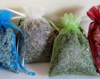 CUSTOM Herbal Aroma Sachets, New Packaging, Lowered Pricing, More Options