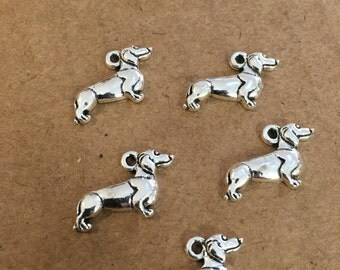Dog charms (10 pieces)