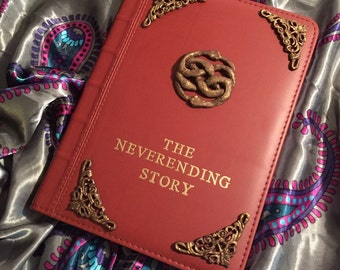 The Neverending Story Leatherette Journal