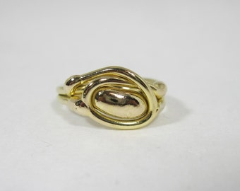 Freeform Handmade Bronze Ring (one of a kind)   BR024