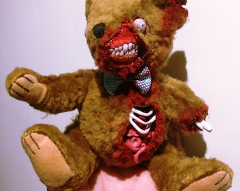 DeddyBears- Ripped Mouth Zombie Bear
