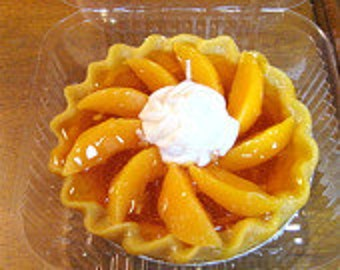 Peach Pie Candle 5""