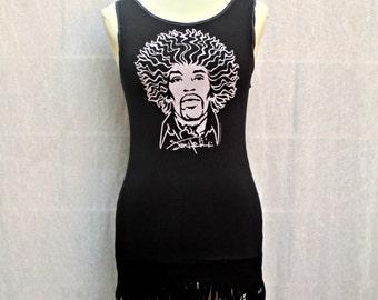 Black and White Jimi Hendrix