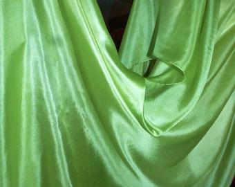 Silk Belly Dance VeilPastel Pistachio Green Bellydance Veil Light Green silk Veil
