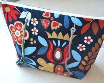 Double Yarn Bag – Knitting Project bag - Medium - Crochet Project Bag