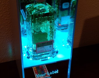 Custom RGB LED Display Case For Rare Bottles, Figurines, Or Collectibles
