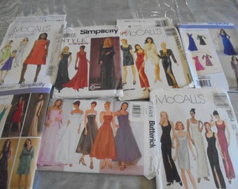 Sewing Patterns DRESSES Evening Semi Formal Prom Gothic
