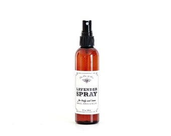 Lavender Spray ~ Lavender Body Spray, Linen Spray & Room Refresher