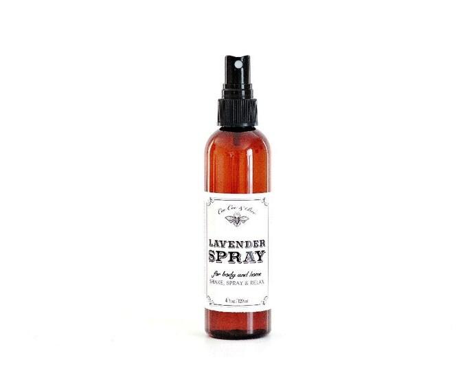 Lavender Spray ~ Lavender Body Spray, Linen Spray & Room Refresher
