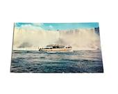 Vintage Postcard, Maid of the Mist, Niagara Falls, Maid of the Mist II, Collectible Postcard, New York, Canada, Steamship