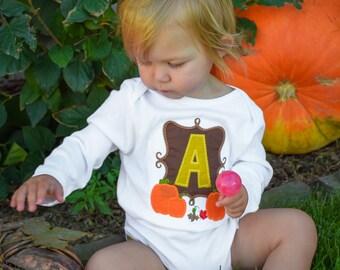 Pumpkin Frame Monogram