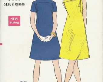 Vogue pattern 7373    Misses One-Piece Dress    Size 14