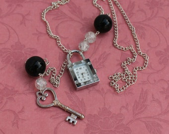 Make Time - Lariat Watch Necklace