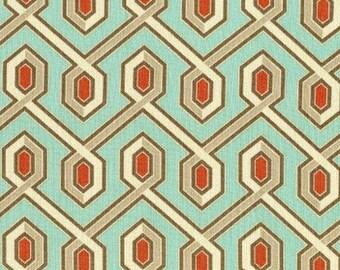 Joel Dewberry Deer Valley Fabric - Mountain Gem in Celadon - Cotton Woven Fabric