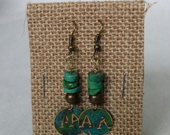 AA recovery earrings