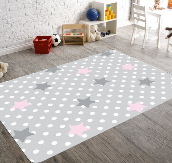 star rug moon and stars nursery star nursery pink and grey