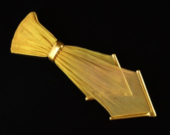 gold lame tie etsy