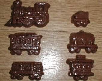 Small Train Chocolate Mold