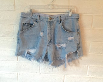 Perfectly Ripped High Waisted Shorts