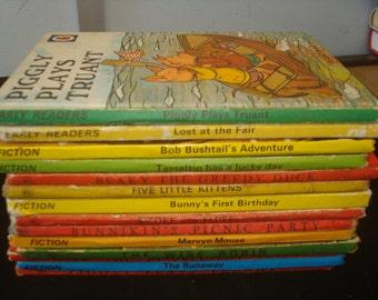 Set of 14 Series 401/497 Ladybird Books