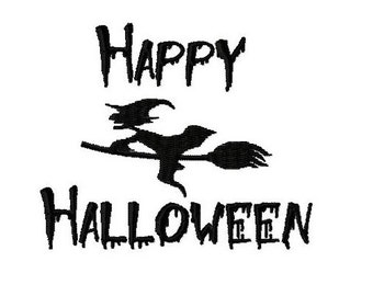 Embroidery Design Happy Halloween 11 - DIGITAL DOWNLOAD PRODUCT