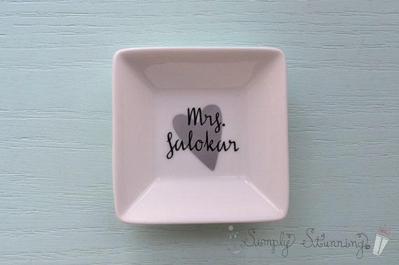 Personalised Wedding Gift Ring Dish : ... Rings Engagement Rings Promise Rings Ring Bearer Pillows Wedding Bands