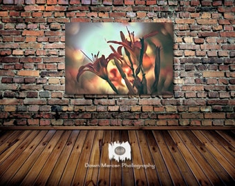 Large Flower Photo 24x36 Print Flower Photography Lily Flowers Photo Large Wall Print Oversized Floral Print Nature Photography Wildflowers