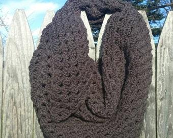 Gray shawl/scarf handmade