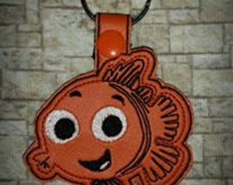 Clown Fish Key Fob/Zipper Pull