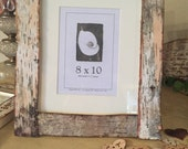 Eco-Friendly 5x7 Birch Bark Picture Frame