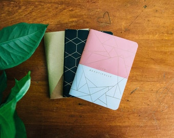 A6 Pocketbooks - 3 Pack