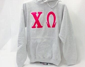 Medium Chi Omega Hooded Sweatshirt
