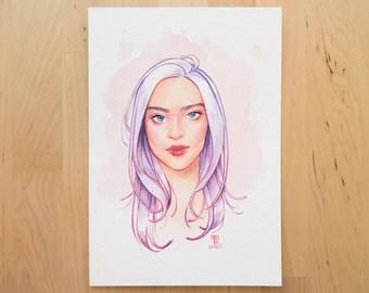 ORIGINAL A5 watercolor illustration