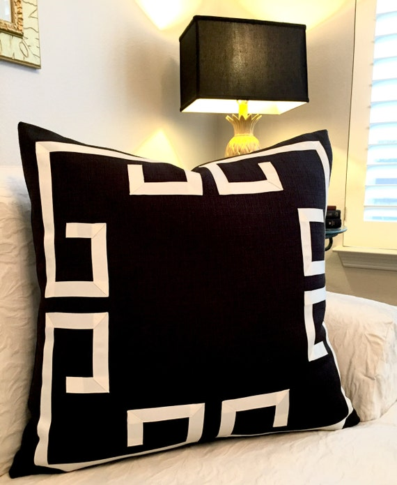 Charming Greek Key Decorative Pillows Part - 11: Like This Item?