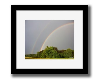 Double Rainbow - Professional Photography - JPEG/JPG Digital File Download