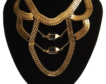 Multi-layer Statement Necklace